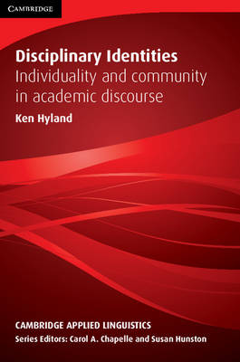 Disciplinary Identities book