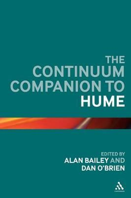 The Continuum Companion to Hume by Dan O'Brien