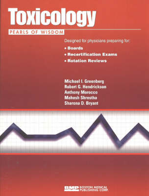 Toxicology by Michael I. Greenberg