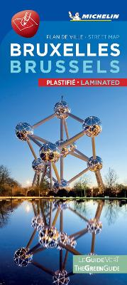 BRUSSELS - Michelin City Map 9504 Dual Language: Michelin City Plans book