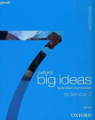 Oxford Big Ideas Science 7 Australian Curriculum Workbook book