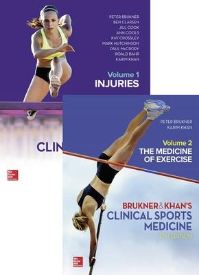 VALUE PACK: CLINICAL SPORTS MEDICINE 5E - VOL 1 & 2 by Peter Brukner