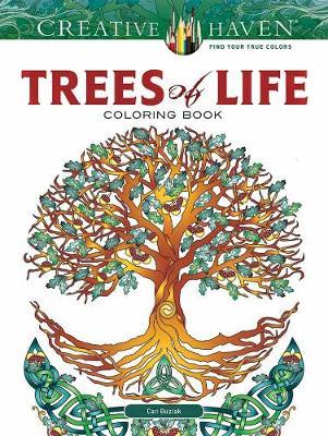 Creative Haven Trees of Life Coloring Book by Cari Buziak