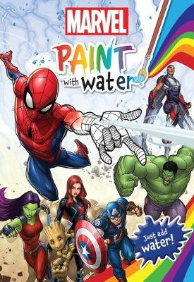 MARVEL PAINT WITH WATER book