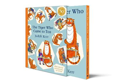 The Tiger Who Came to Tea Gift Edition by Judith Kerr