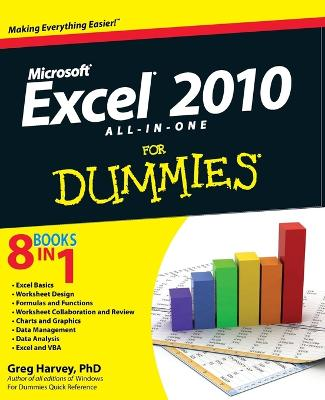 Excel 2010 All-in-One For Dummies by Greg Harvey