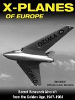 X-planes of Europe by Tony Buttler