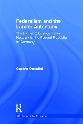 Federalism and the Lander Autonomy book