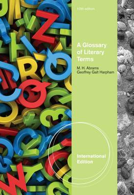 Glossary of Literary Terms by Geoffrey Galt Harpham