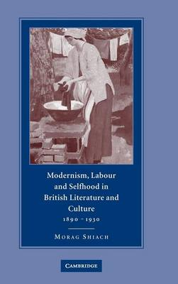 Modernism, Labour and Selfhood in British Literature and Culture, 1890-1930 by Morag Shiach
