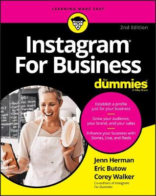 Instagram For Business For Dummies by Jennifer Herman