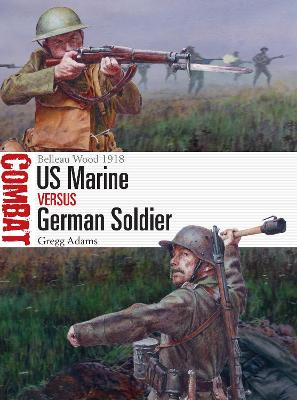 US Marine vs German Soldier by Gregg Adams