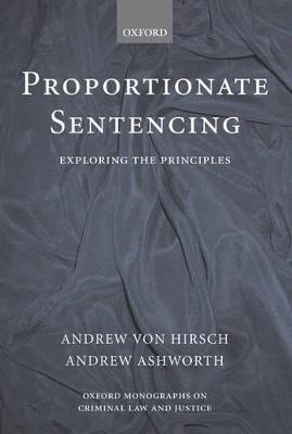 Proportionate Sentencing book
