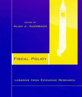 Fiscal Policy by Alan J. Auerbach