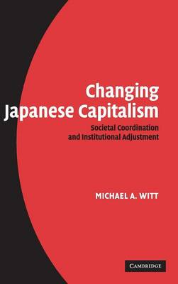 Changing Japanese Capitalism book