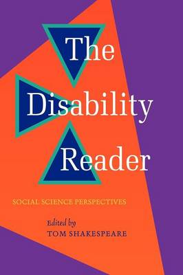 Disability Reader by Tom Shakespeare