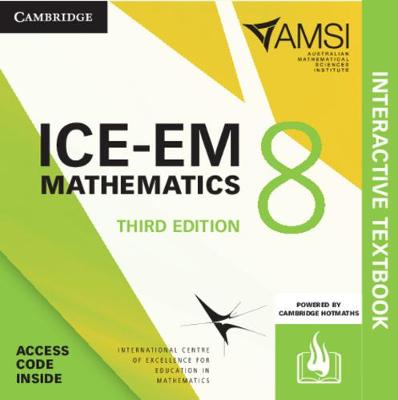 ICE-EM Mathematics Year 8 Interactive Textbook by Peter Brown