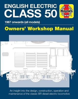 English Electric Class 50 Locomative by Jarrod Cotter