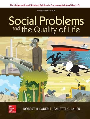 ISE Social Problems and the Quality of Life book