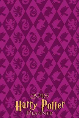 2018 Harry Potter Planner - Purple by Pyramid Planners