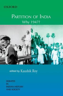 Partition of India by Dr. Kaushik Roy