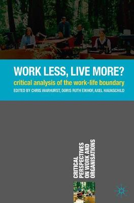 Work Less, Live More? book