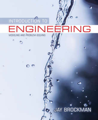 Introduction to Engineering, Modeling and Problem Solving book