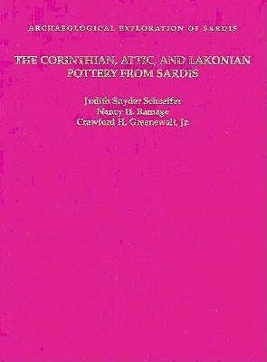 Corinthian, Attic and Lakonian Pottery from Sardis book