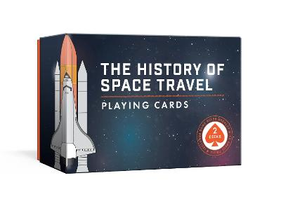 History of Space Travel Playing Card Set: Two Decks with Game Rules by Pop Chart Lab