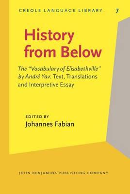 History from Below by Johannes Fabian