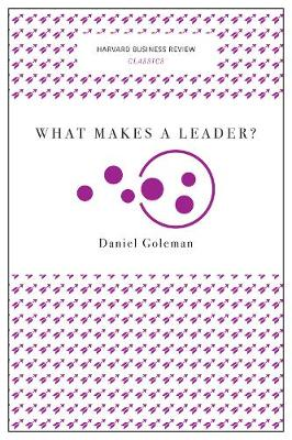 What Makes a Leader? (Harvard Business Review Classics) by Daniel Goleman