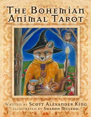 The Bohemian Animal Tarot book