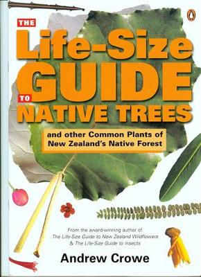 Life-Size Guide to Native Trees by Andrew Crowe