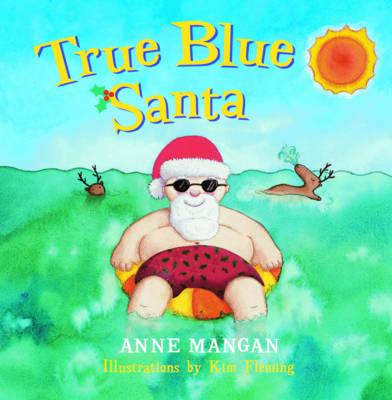 True Blue Santa book