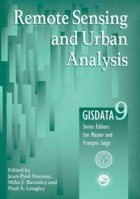 Remote Sensing and Urban Change by Jean-Paul Donnay