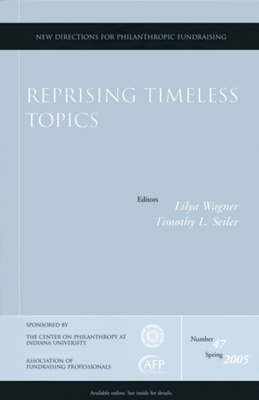 Reprising Timeless Topics by Lilya Wagner