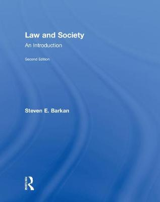 Law and Society by Steven E. Barkan