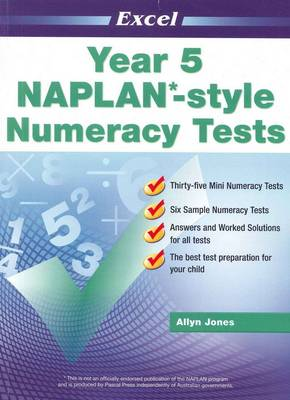 NAPLAN-style Numeracy Tests: Year 5 book
