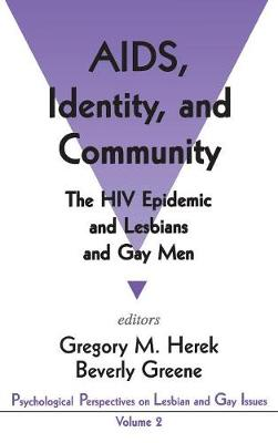 AIDS, Identity, and Community by Beverly A. Greene