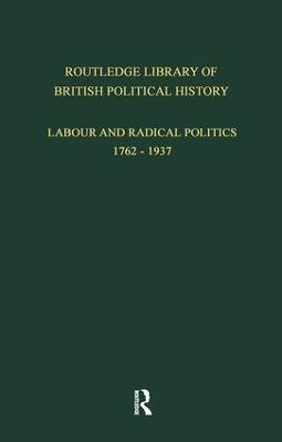 English Radicalism (1935-1961) by S. Maccoby