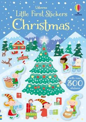 Little First Stickers Christmas by Kirsteen Robson