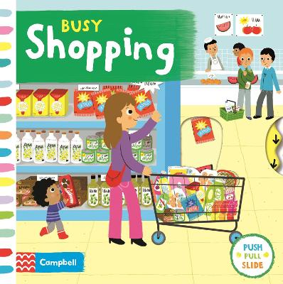 Busy Shopping book