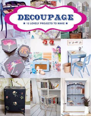 Decoupage book