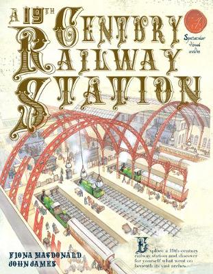 19th Century Railway Station by Fiona MacDonald