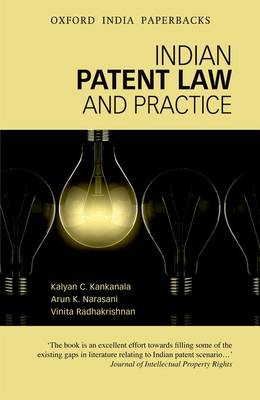 Indian Patent Law and Practice by K. C. Kankanala