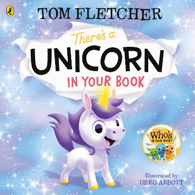 There's a Unicorn in Your Book book