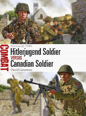 Hitlerjugend Soldier vs Canadian Soldier by David Greentree