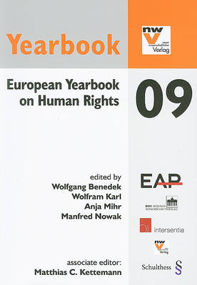European Yearbook on Human Rights 09 by Wolfgang Benedek