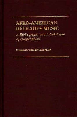 Afro-American Religious Music book