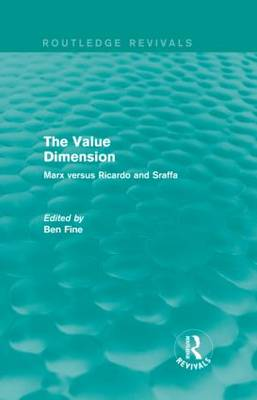 The Value Dimension by Ben Fine